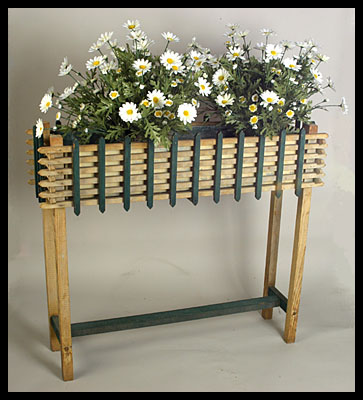 Flower Stand with Original Paint